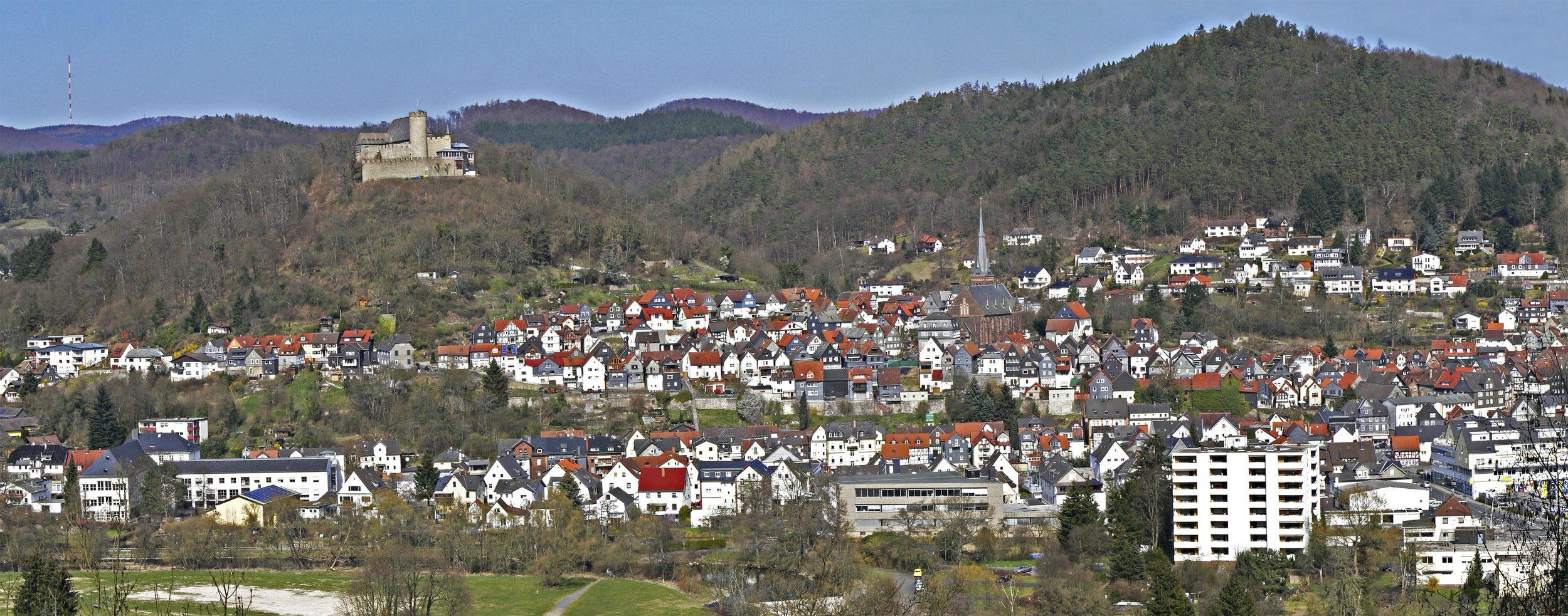 Panorama der Stadt Biedenkopf | Fotograf Armin Genz