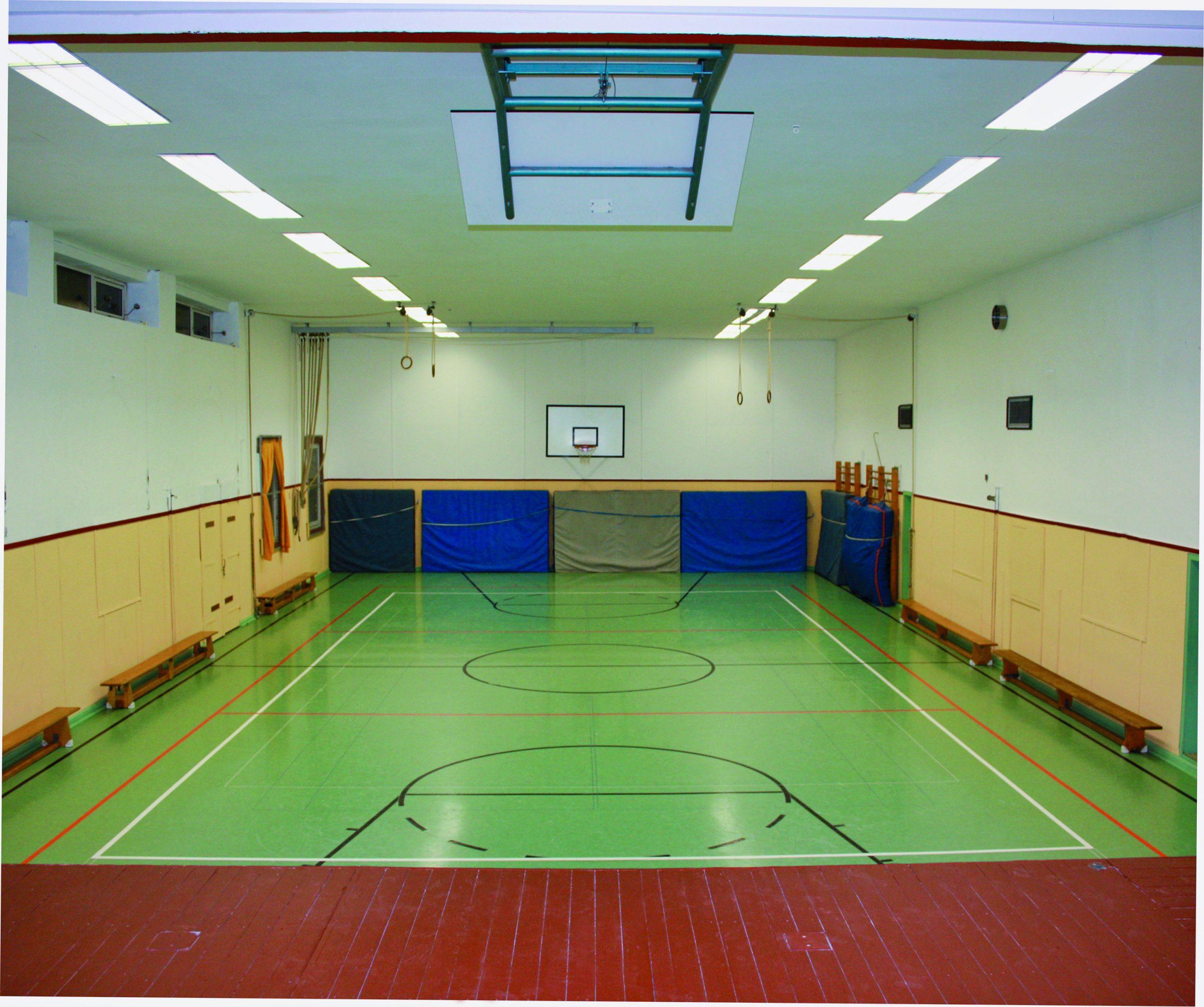 TVB Jahn-Halle in Biedenkopf | Blick von der Bühne
