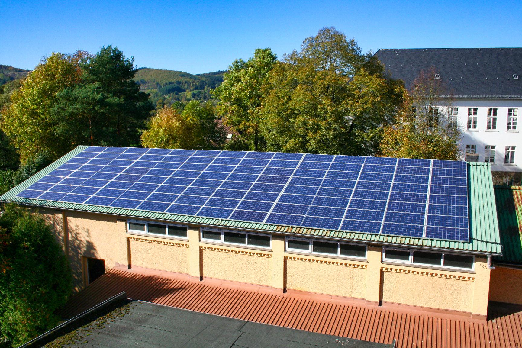 TVB Jahn-Halle in Biedenkopf | Solaranlage